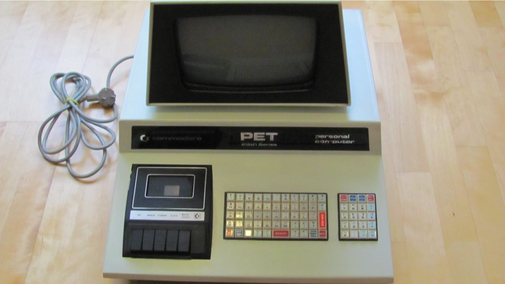 COMMODORE PET-2001 - Computermuseum Ebenthal