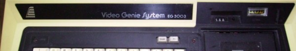 Video Genie System EG 3003
